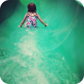 first waterslide