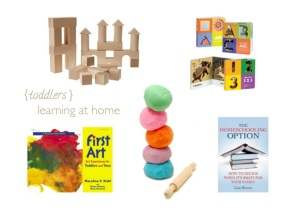 learning at home toddlers