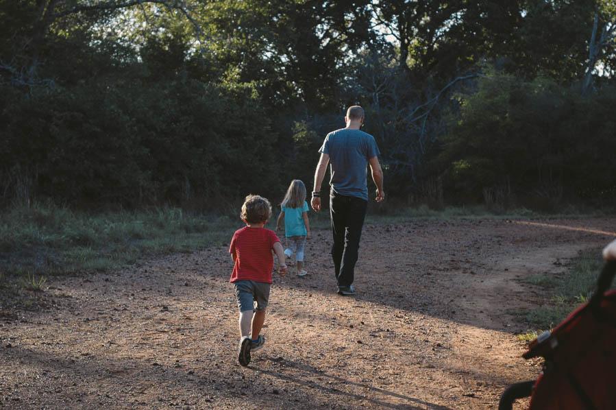 evening family walk-13