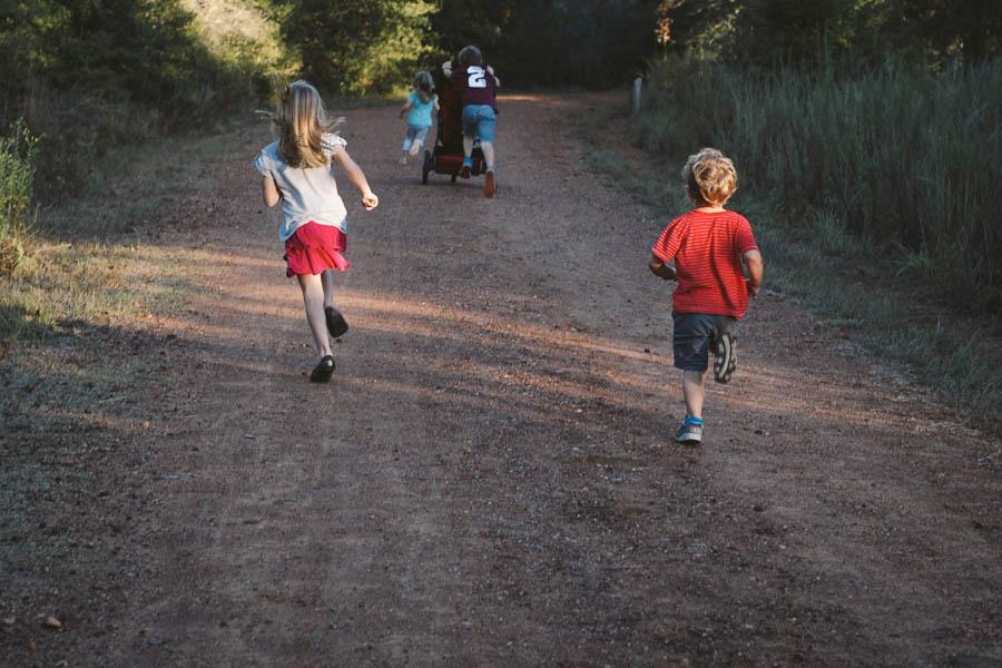 evening family walk-16